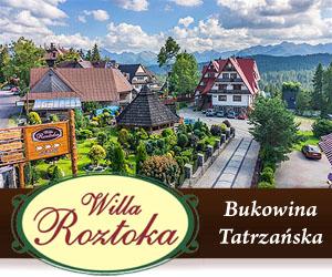 """Willa Roztoka"" Bukowina Tatrzańska"